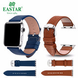 Eastar 3 Color Hot Sell Leather Watchband for Apple Watch Band Series 3/2/1 Sport Bracelet 42 mm 38 mm Strap For iwatch 4 Band