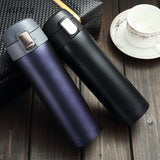Thermos cup Thermos Mug Vacuum Cup 304 Stainless Steel  insulated Mug 450ML Thermal Bottle Thermoses vacuum flask  water bottle