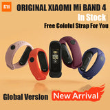 Xiaomi Mi Band 4 Original 2019 Newest Music Smart Miband 4 Bracelet Heart Rate Fitness 135mAh 3 Color Screen Bluetooth 5.0