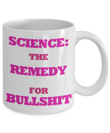 Funny Science Coffee Mug - Science Hot Chocolate Mug - Cute Coffee Mug