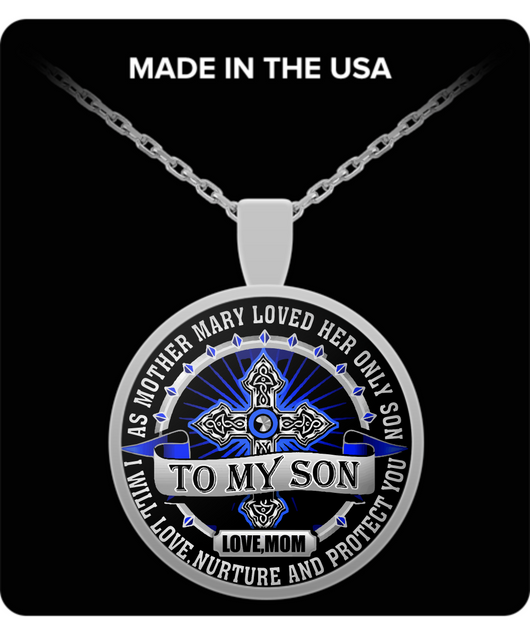 From MOM to SON Necklace - Teenage Son Gifts