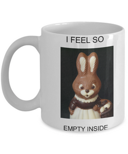Easter Bunny Chocolate Mug
