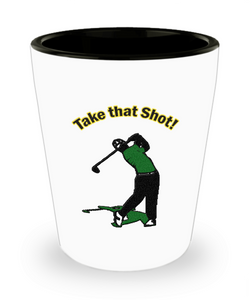 Funny Golf Gifts - Golf Shot Glass - Golfers Need A Shot Too