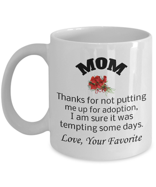 Perfect Gift for Mom - Thankful Message to Mom 1