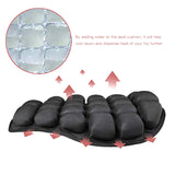 Motorcycle Air Seat Cushion Pressure Relief Ride Seat Cushion TPU Water-Fillable Seat Pad for Cruiser Touring Saddles