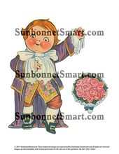 "Dolly Dingle Light Opera ""Erminie"" Printable Paper Dolls"