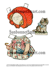 Dolly Dingle on the Farm Printable Paper Dolls