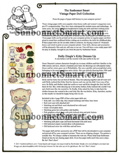 Dolly Dingle Kitty Cat Printable Paper Dolls
