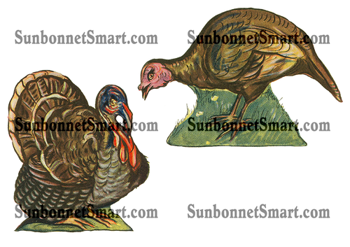 Dolly Dingle Turkey Centerpiece Printables