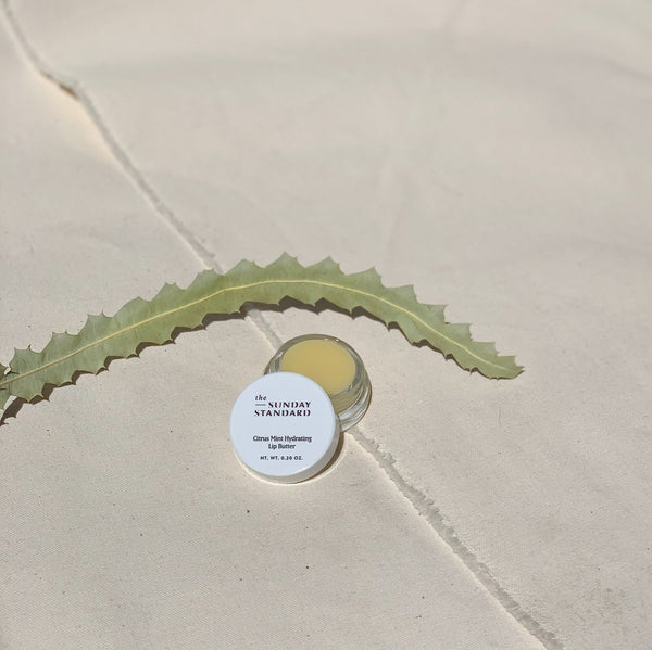 Citrus Mint Hydrating Lip Butter