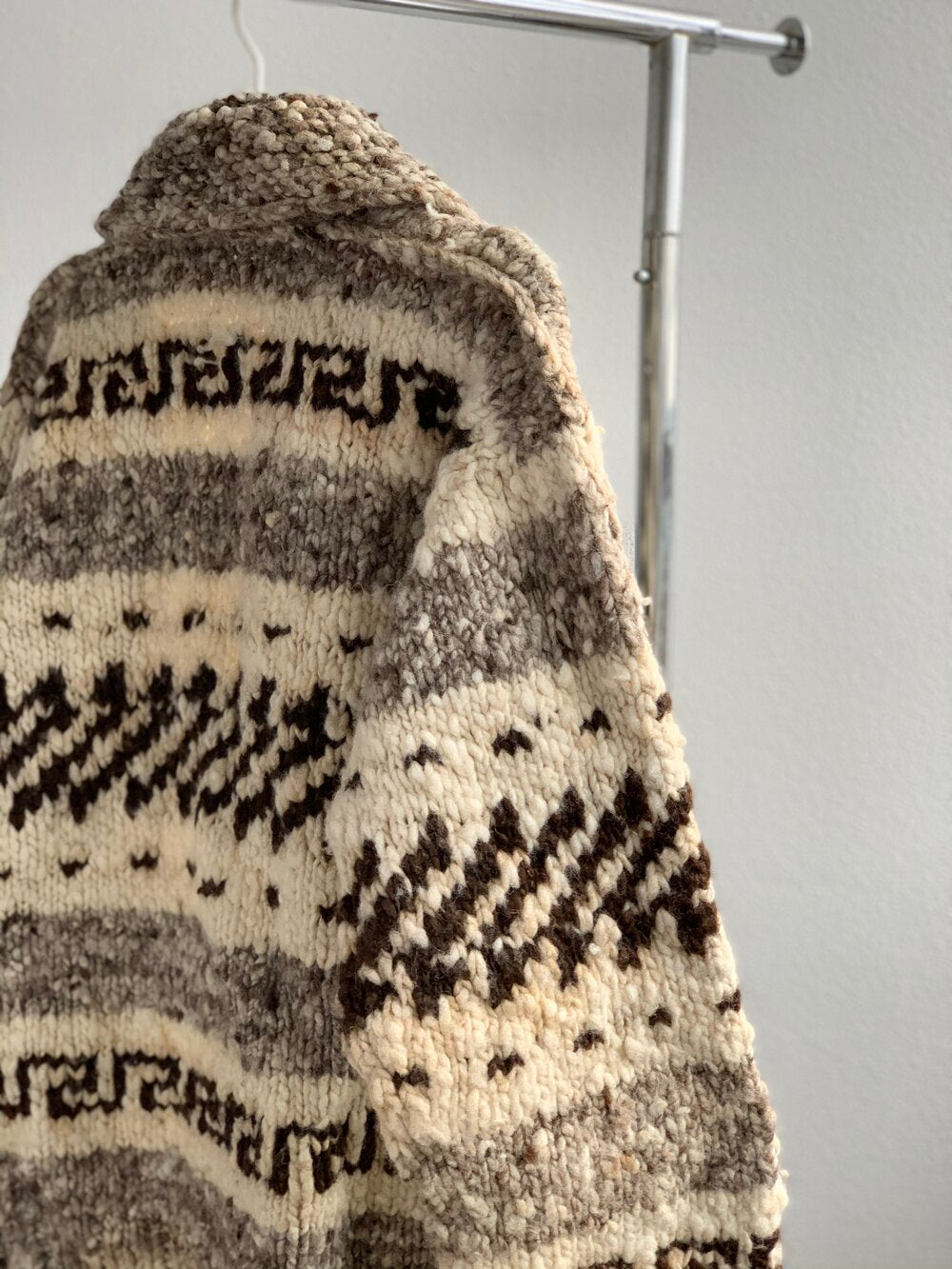 Wool Cowichan Sweater