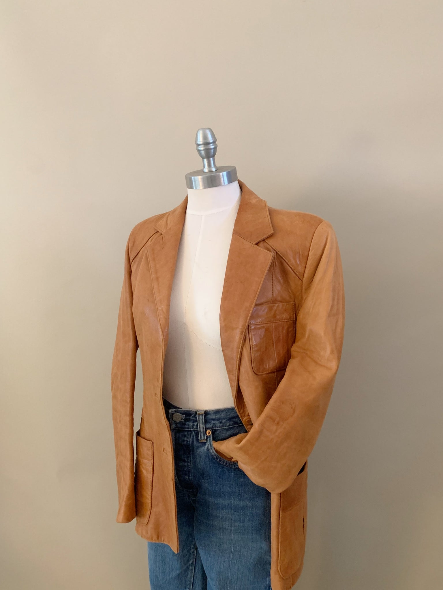 Wilsons leather blazer