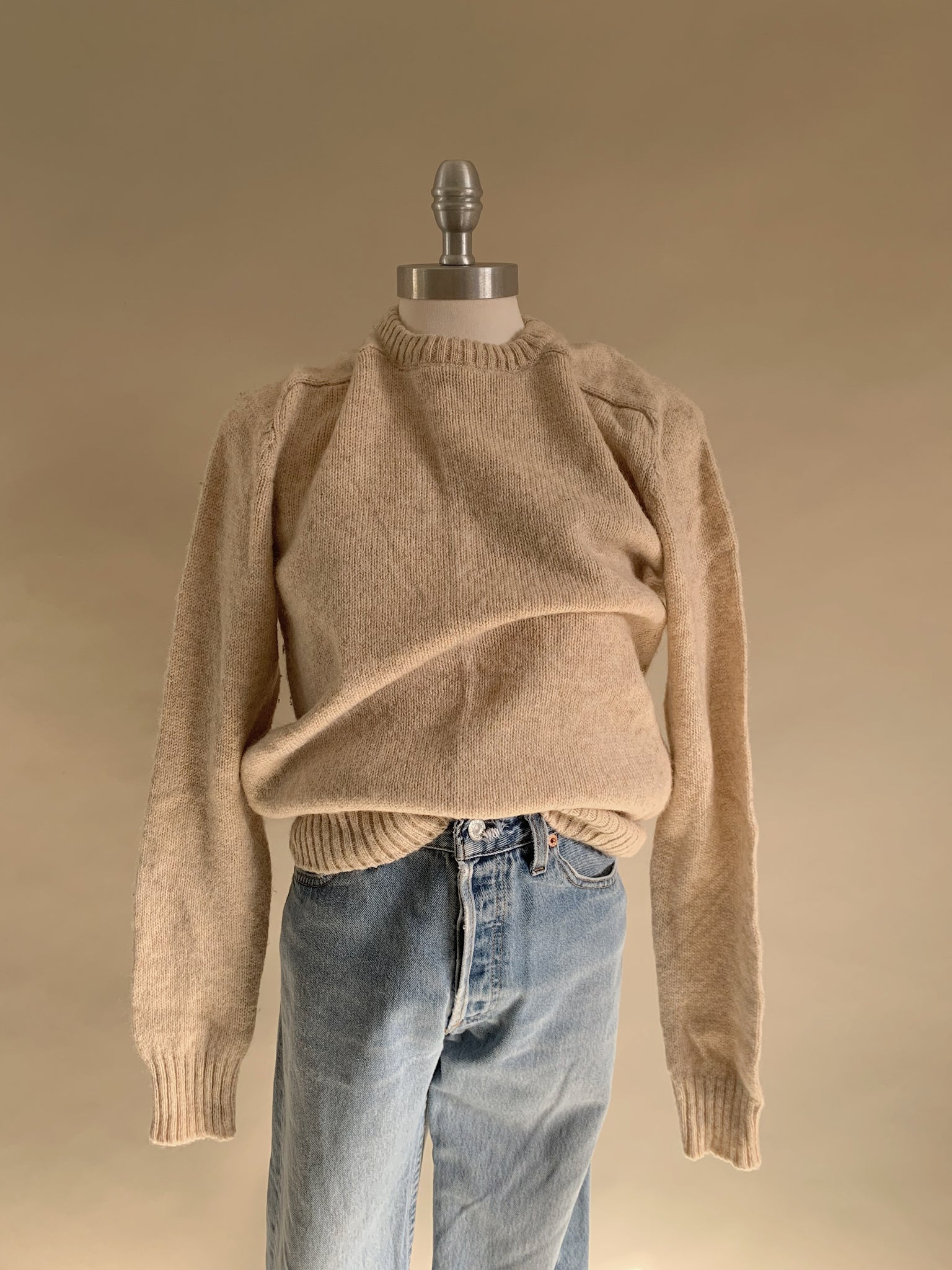 wool ivory sweater