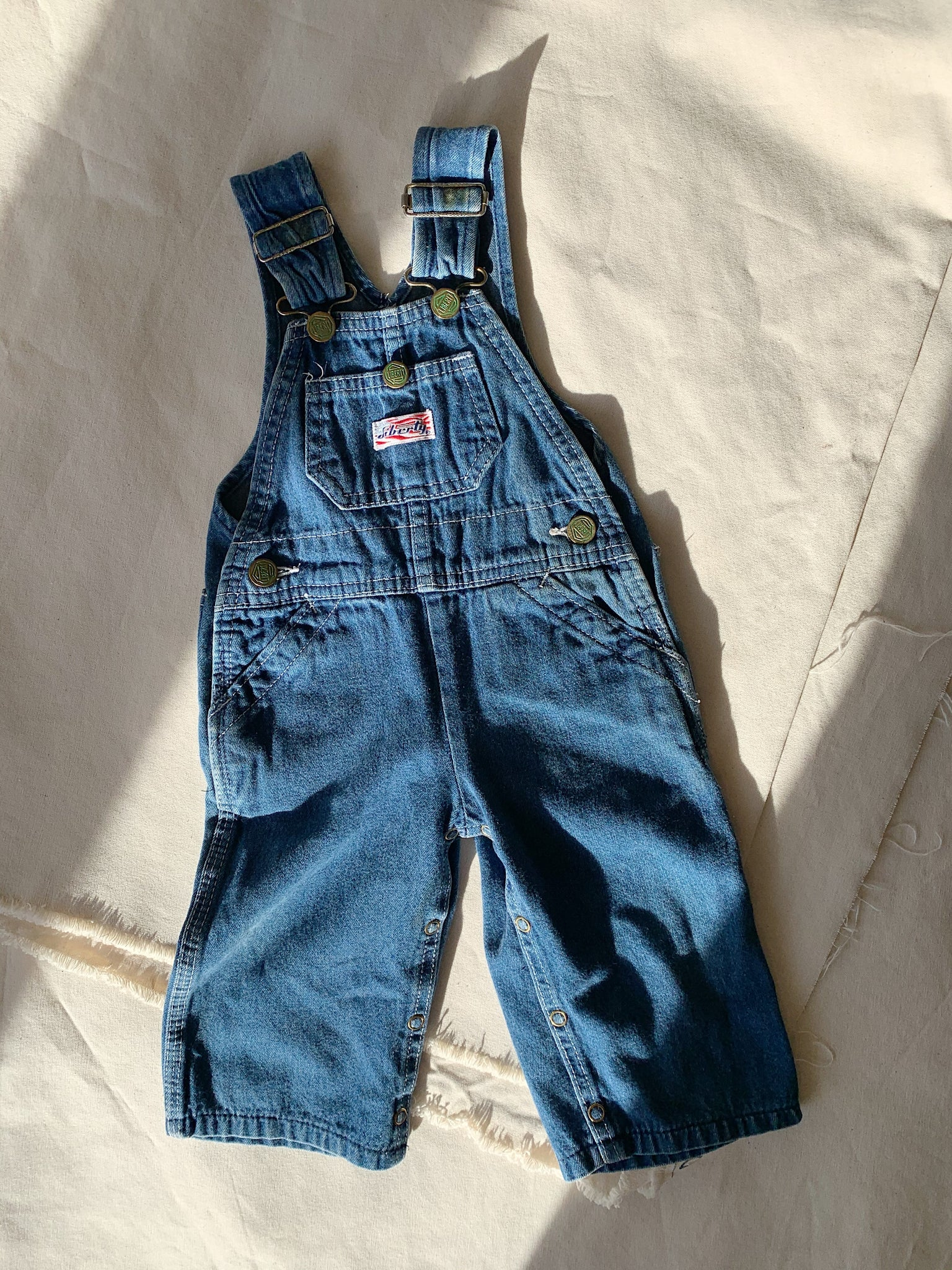 kids denim overalls