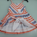 GYMBOREE STRIPPED SUNDRESS(4yrs,6YRS)