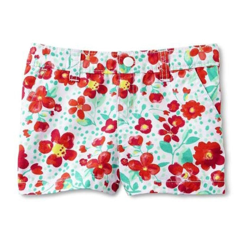 14f61bd80 Toughskins White Floral Twill Shorts Infant (18mn) – Bumble Bee Stores