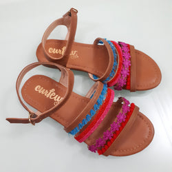 Curfew girls Strap Sandals us12(30),us3(34)