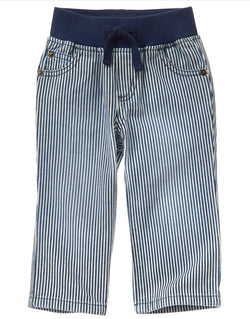 Crazy8 Striped Pull On Pants (18-24mn,2yrs,3yrs,4yrs)