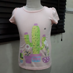 Toughskins Cactus Girls Top (4yrs)