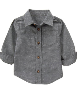 1.Gymboree Toddler Boy Smoke Western Shirt (2yrs,3yrs,4yrs,5yrs)