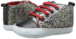 Luvable Friends Sparkly Sneakers (0-6mn)