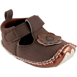 Luvable Friends Mary Jane Baby shoes (6-12mn)