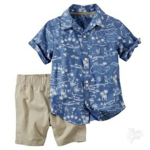 CARTERS SHORTS SET (18mn)
