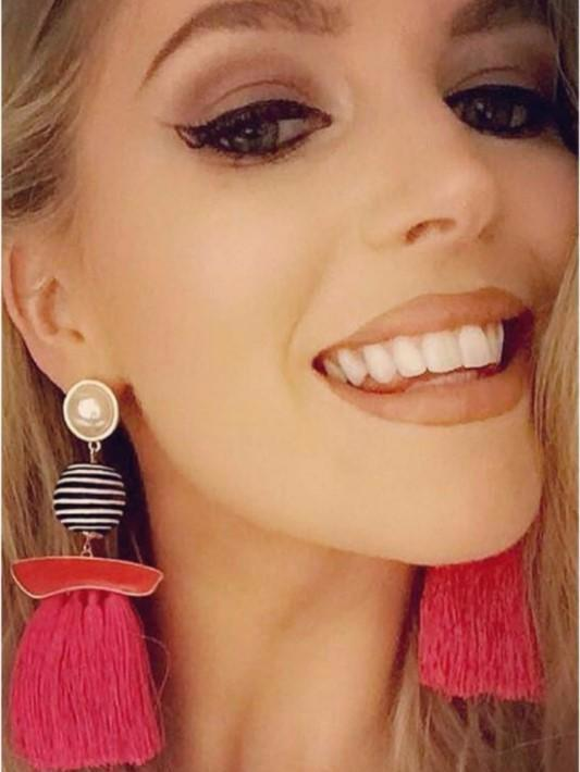 Fringe Drop Tassel Earrings