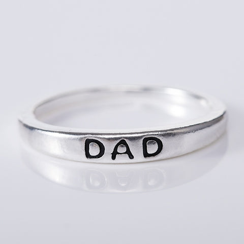 "Ethereal ""Dad"" Ring (engraved)"