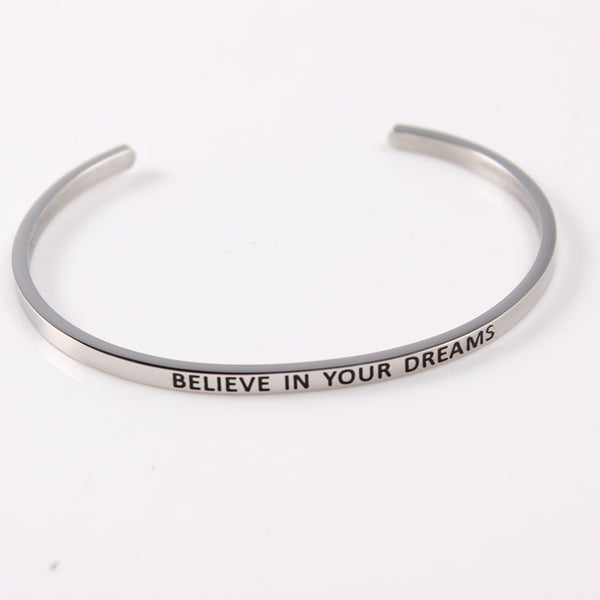 Engraved Silver Cuff Bracelets