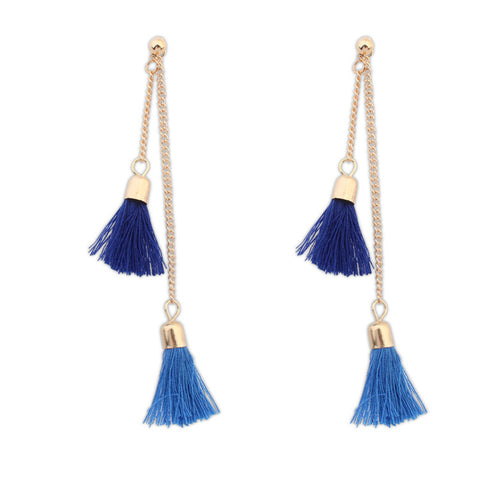 Double Tassel Earrings