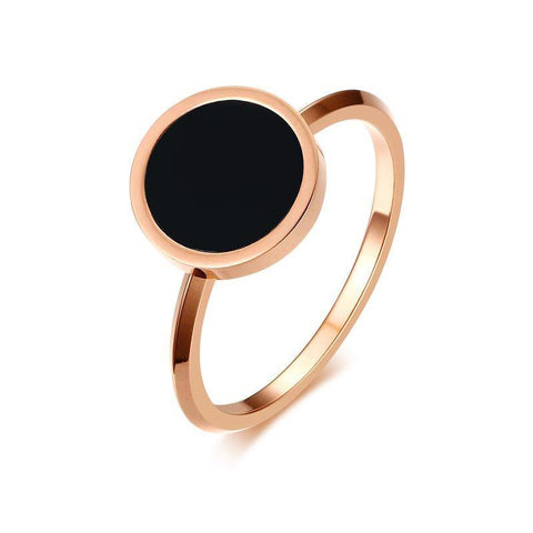 Minimal Rose Gold Ring
