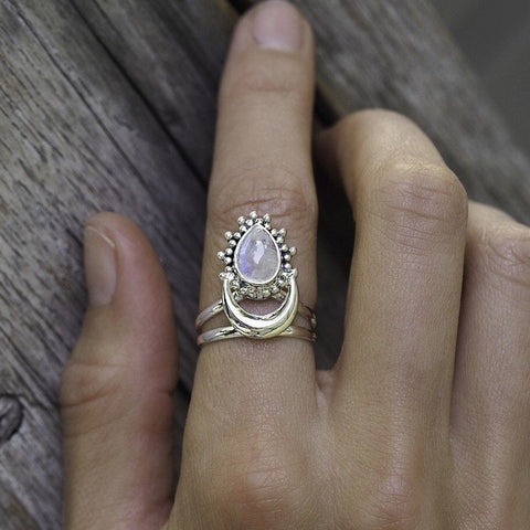 The Moon Goddess Ring