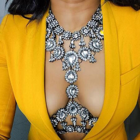 Magnificent Crystal Body Chains