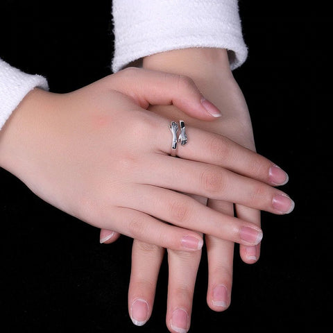 The Warm Hug Sterling Silver Ring™
