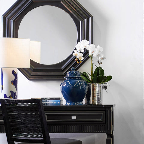 Reynolds Wall Mirror Black | Luxury Furniture Sydney