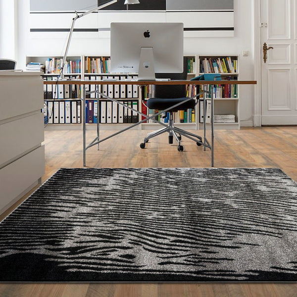 Adorn Grey Contemporary Rug