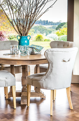 Maine Round Dining Table   Luxury Furniture