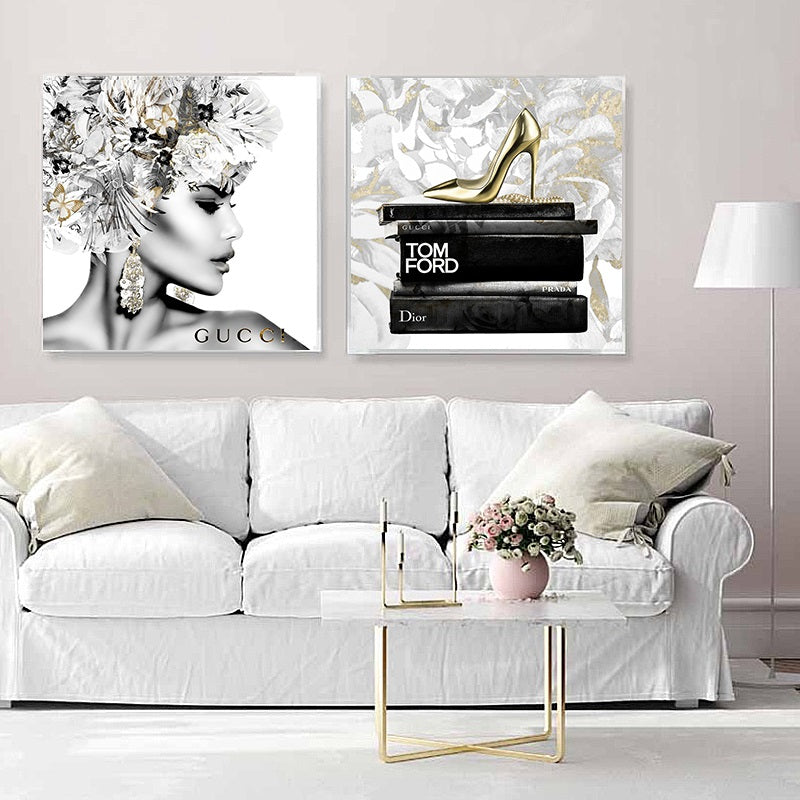 Luxury Furniture | Fashion Wall Art