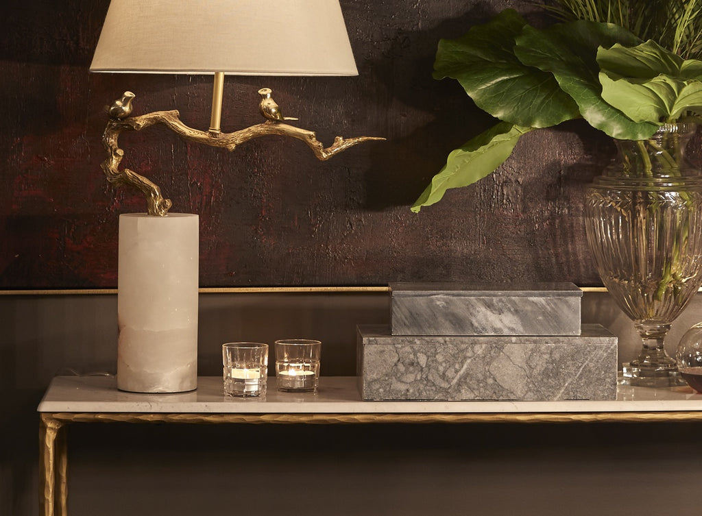 Gold Console Table | Gold Hallway Tables