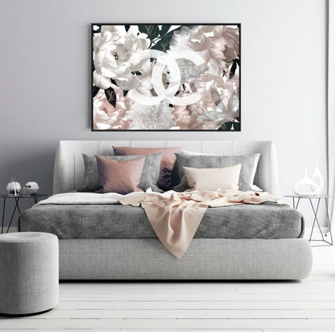Coco Blush Flower Wall Art | Coco Republic Style