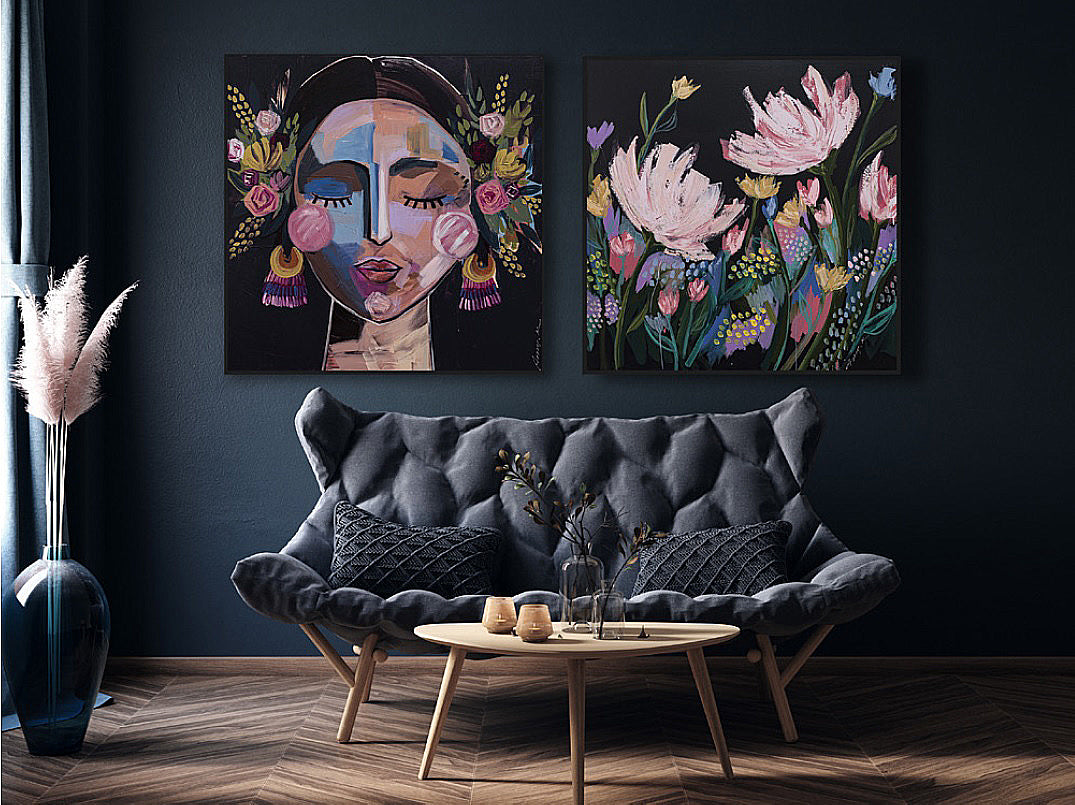 Floral Artwork | Luxury Furniture Sydney