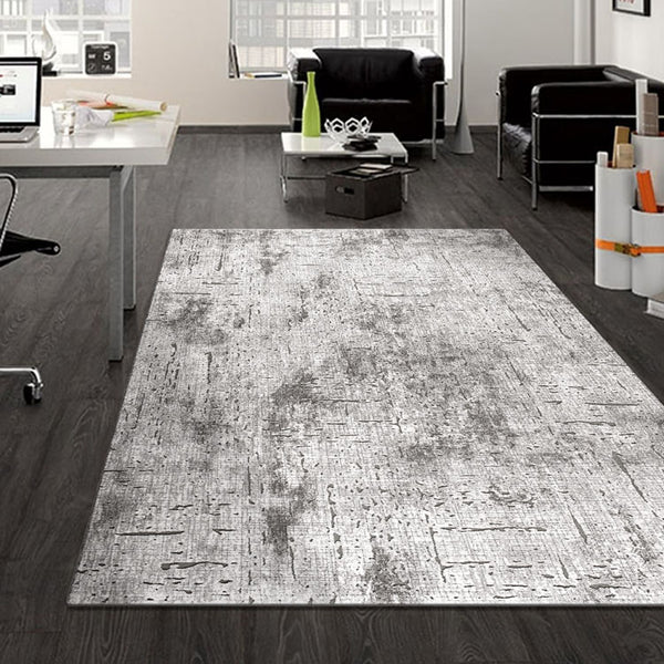 Designer Grey Contemporary Rug