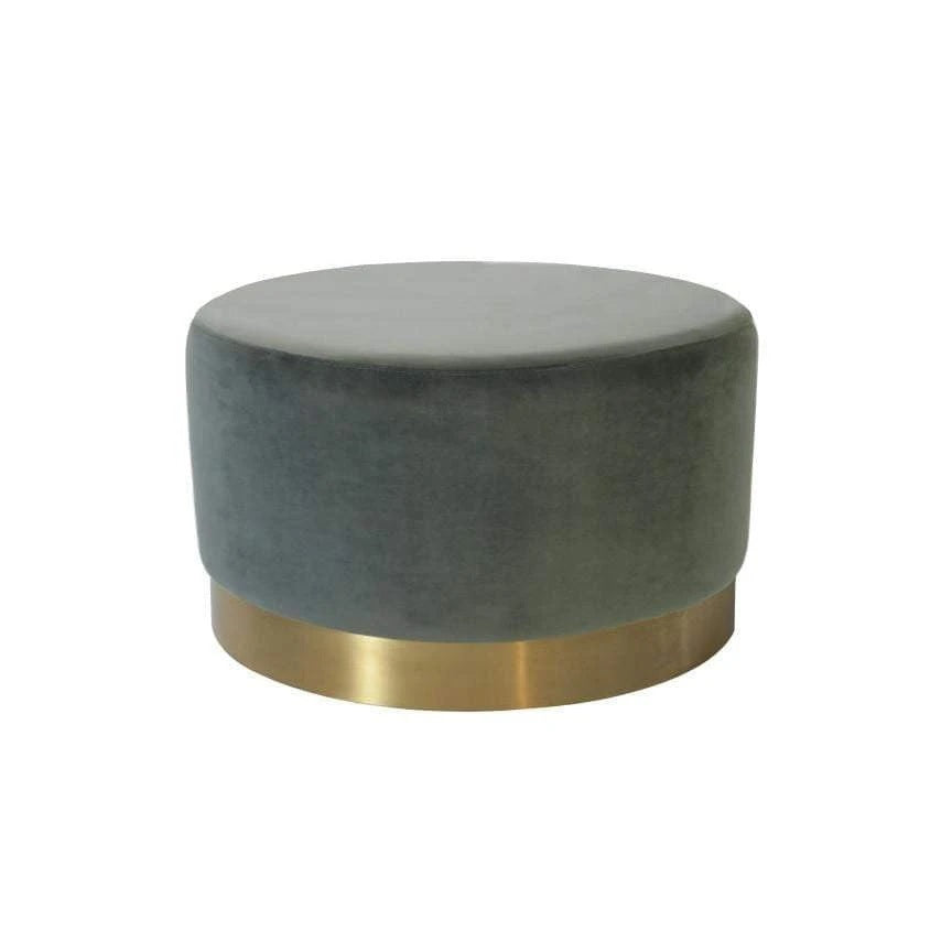 Luxury Velvet Ottoman | Luxury Furniture Sydney