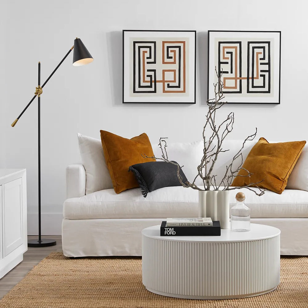 Gold Coffee Table   Round Coffee Tables   Living Room Furniture