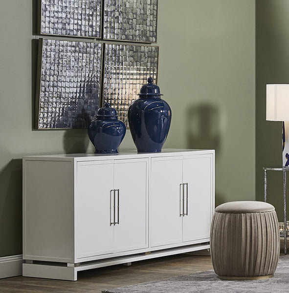 Pearl White Buffet | Hamptons Buffet | Luxury Furniture