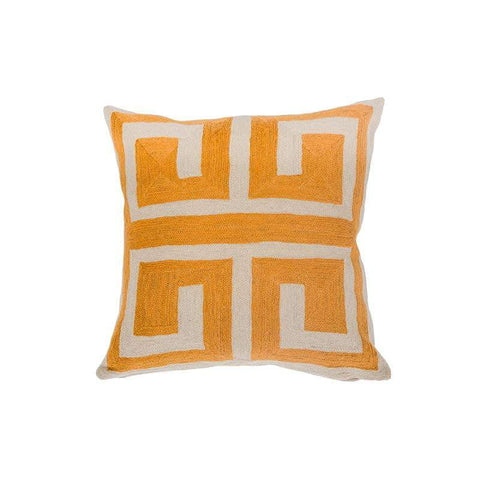 Greek Key Cushion | Luxury Furnishings | Attica