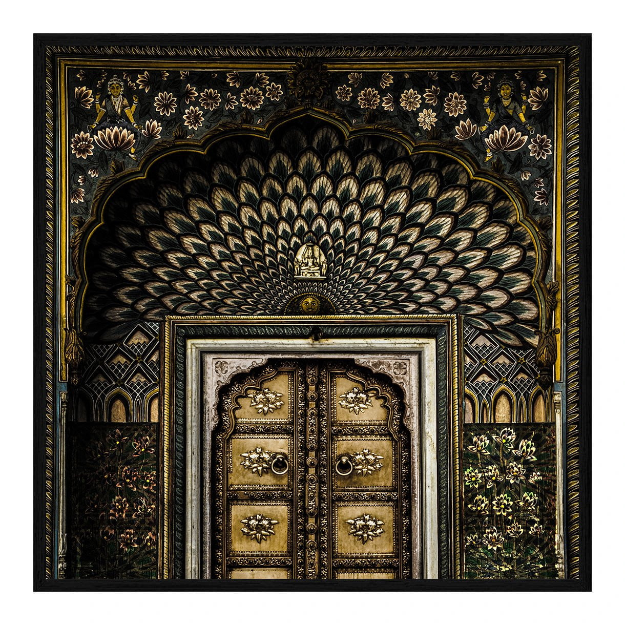 Moroccan Wall Art - Door 3