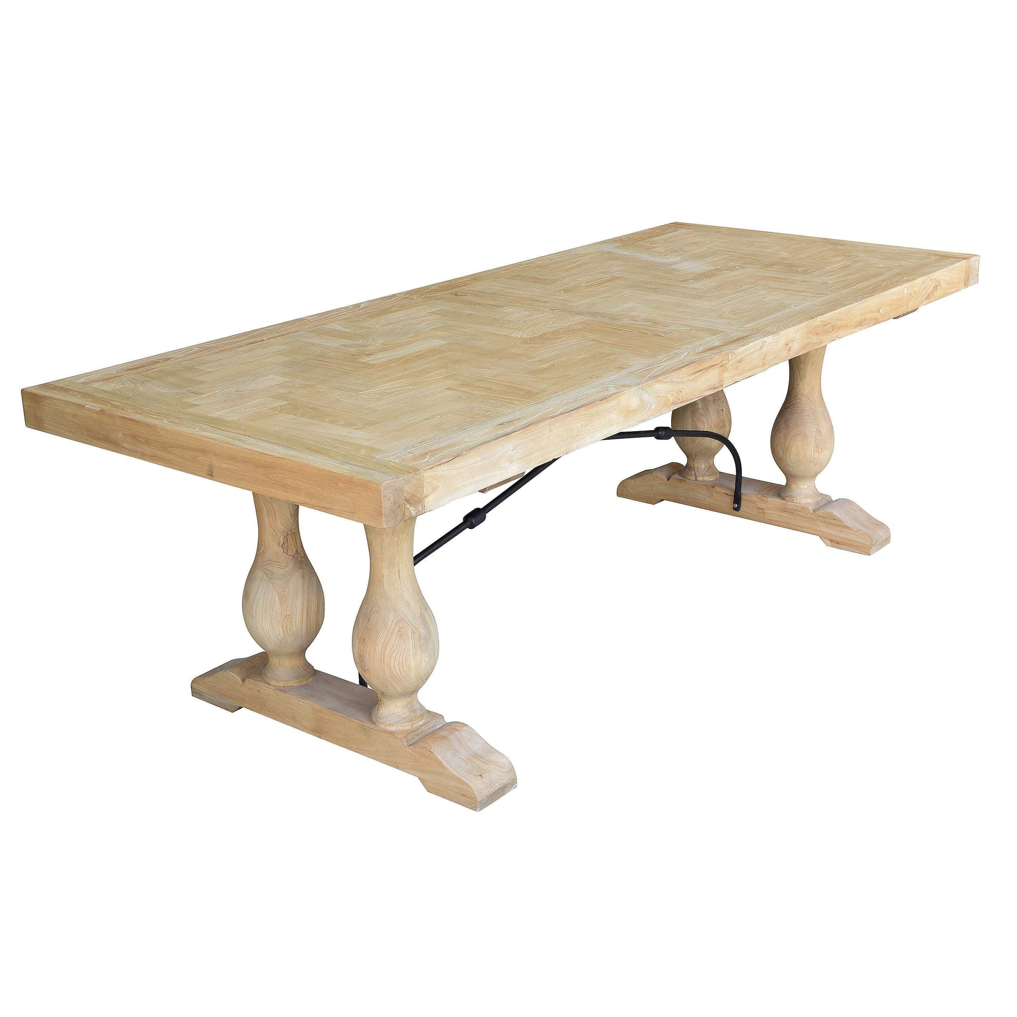 Boston Rustic Dining Table - 2.4m