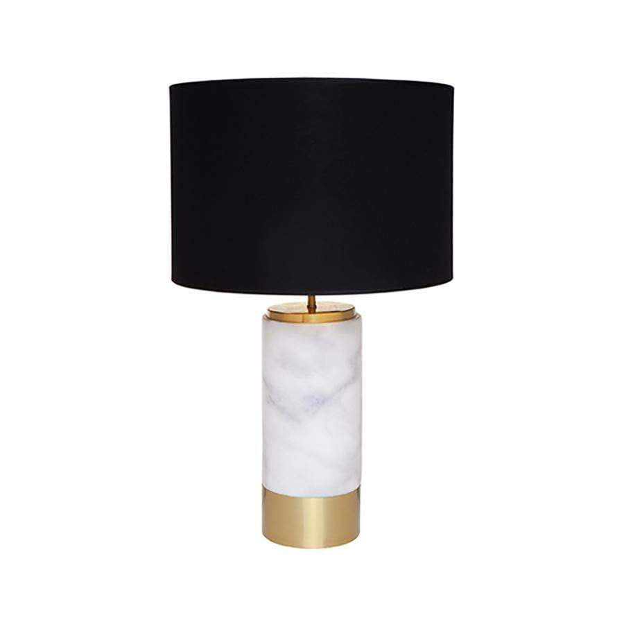 Paola White Art Deco Table Lamp